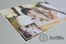 Свадебное фото УФ печать ПВХ 2мм