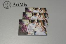 Магниты со свадебным фото
