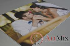 Магнит со свадебным фото