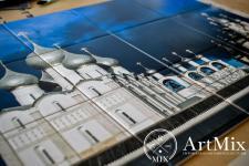 Картина на сублимационной плитке